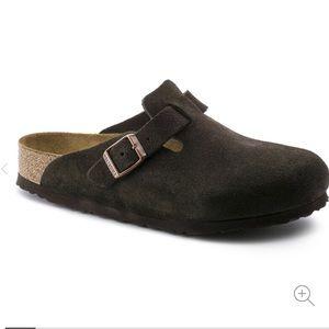 COPY - BIRKENSTOCK Boston Slip-On Clog Shoe Slide…
